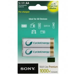SONY NH-AAA-B2KN 800mAh Rechargeable Battery
